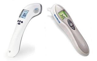 termometry bezdotykowe i do pomiaru dousznego do 150 zł